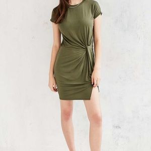 4951fcca65a Urban Outfitters Dresses - Silence + Noise Knotted T-Shirt Dress NWOT